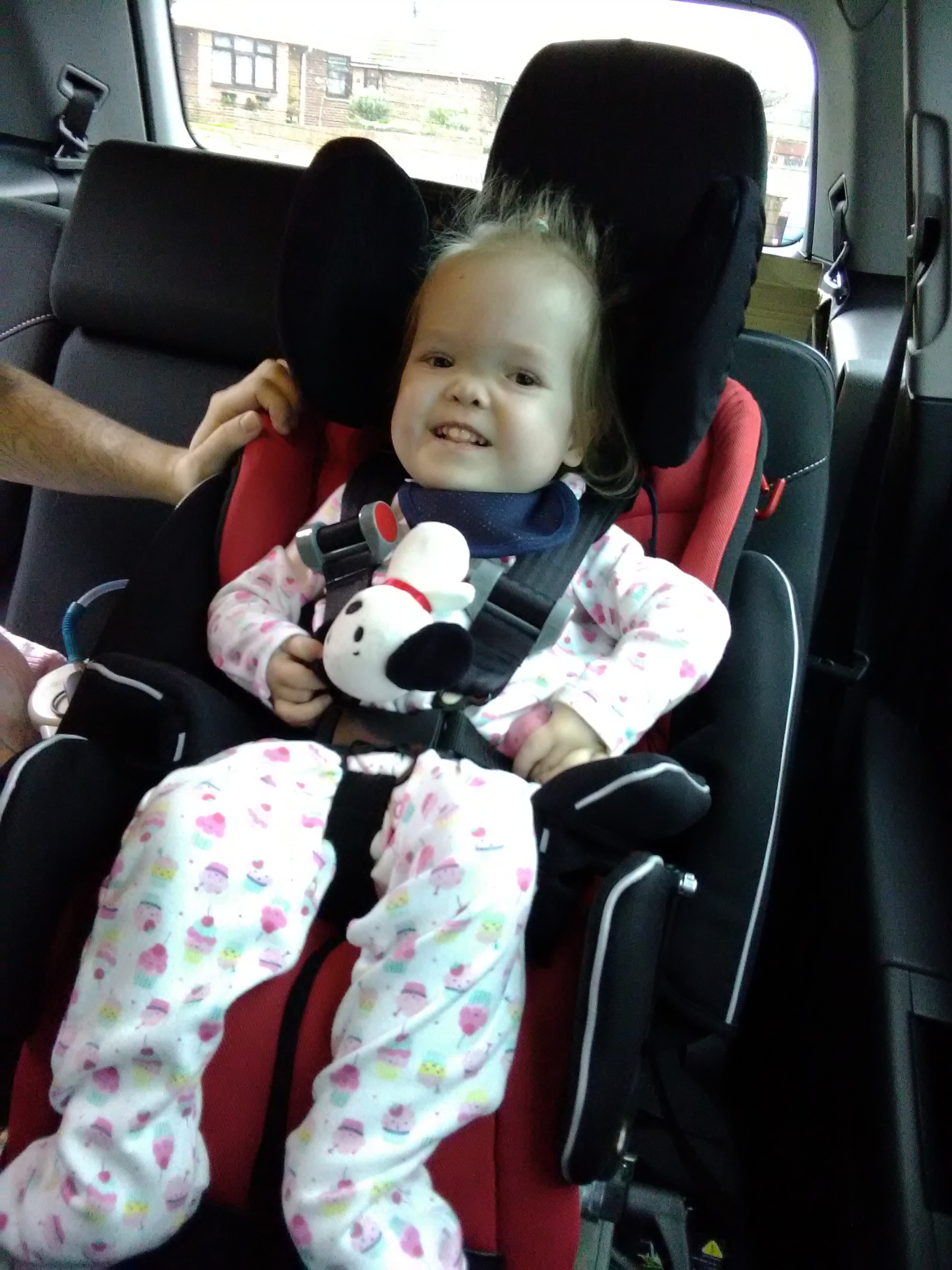 CAR SEAT COMFORT FOR TWO-YEAR-OLD AMAYA