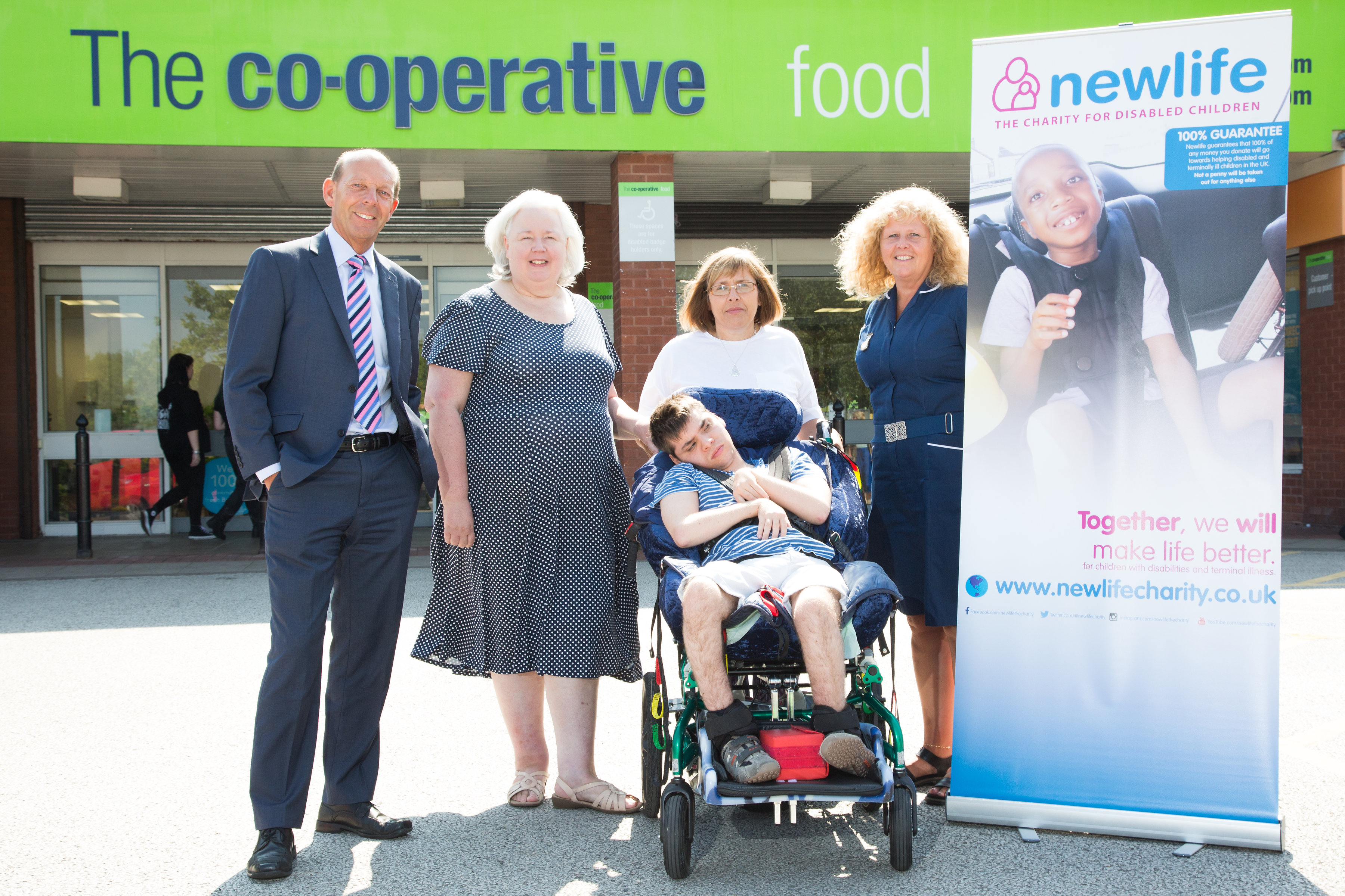 CO-OP COLLEAGUES CHANGE DISABLED CHILDREN'S LIVES - Newlife Charity News