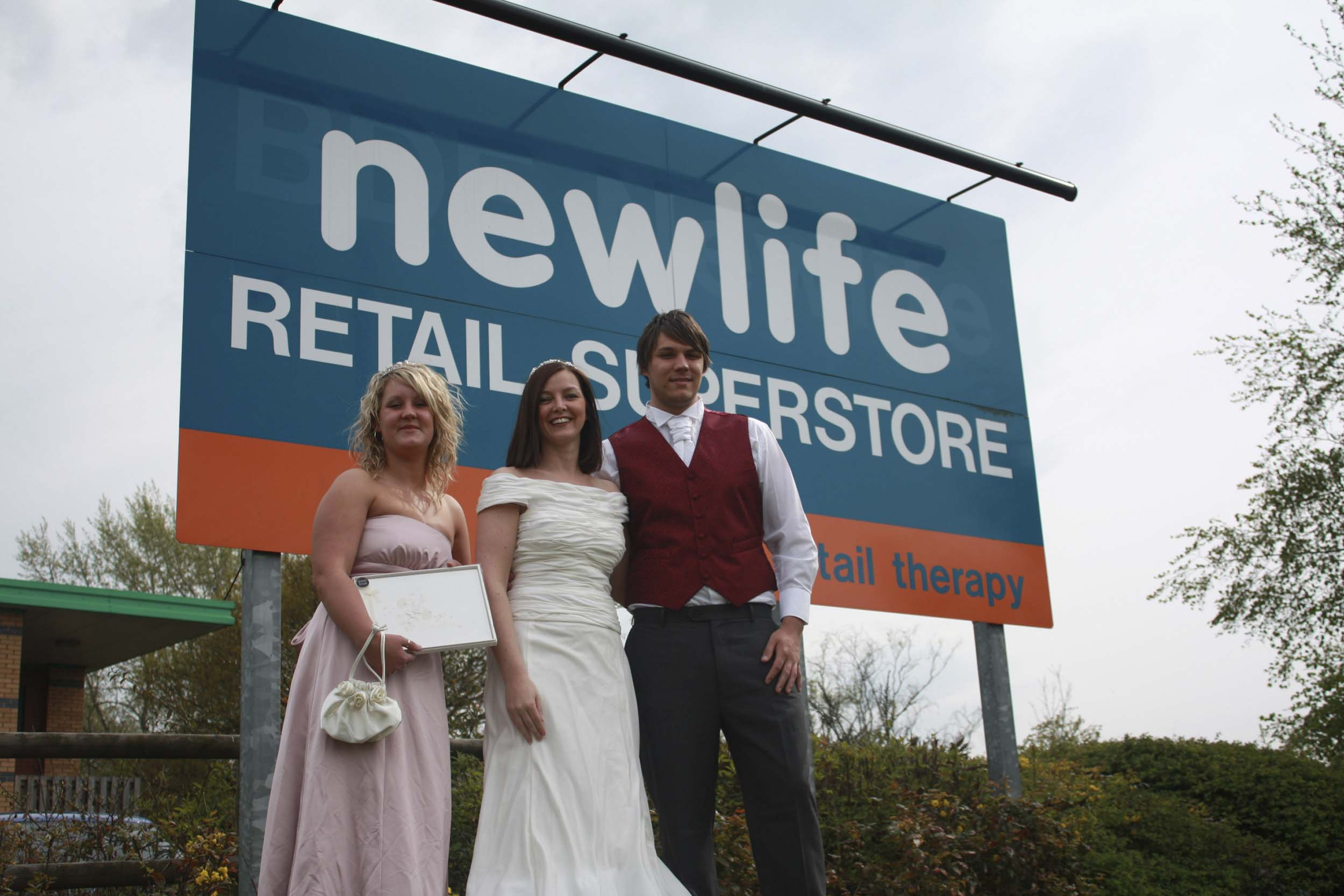 Beautiful Budget Brides-to-be Grab A Bargain At Newlife Superstore ...