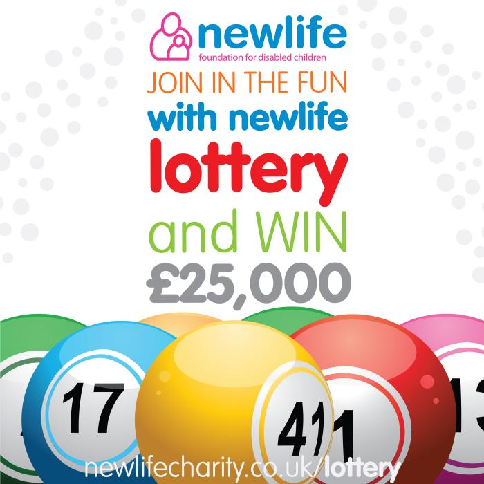 YOUR LOTTERY FUN HELPS DISABLED CHILDREN