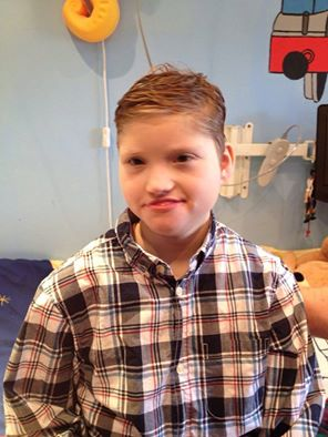 SIMPLE PIECE OF SPECIALIST EQUIPMENT WILL MEAN MORE FAMILY FUN FOR HAYDN, AGED 11