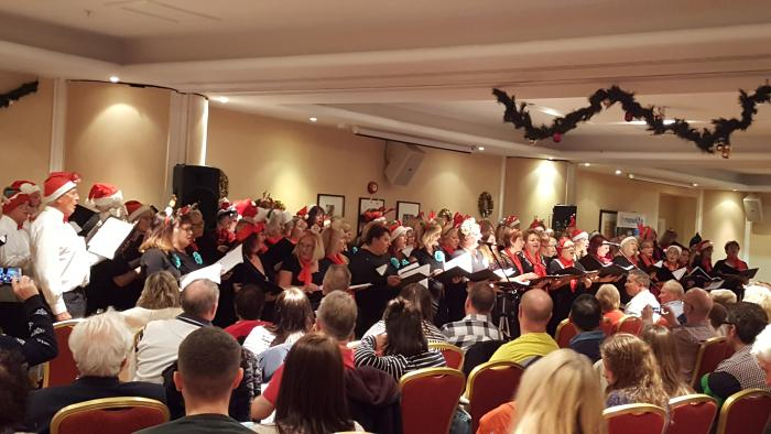 LOCAL CHOIRS GET IN THE FESTIVE SPIRIT AT THE MARRIOT